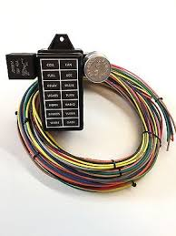 12 circuit 14 fuse universal street rod wiring harness us made 12 circuit 14 fuse universal street rod wiring harness us made high quality gxl