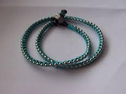 diy leather wrap bracelet