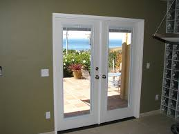 french doors interior blinds photo 2