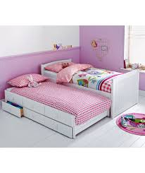 Buy Frankie White Cabin and Trundle Bed with Ashley Mattress at Argos.co.uk