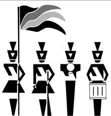 Image result for marching band color guard