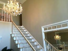 two story foyer lighting what should the foyer chandelier be replaced with a larger crystal chandelier