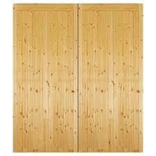 external timber side hung gtg garage door