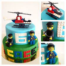 Lego city cake   Lego birthday cake, Lego city cakes, Superman birthday  party cake