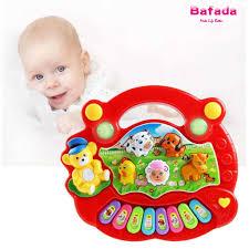Đồ chơi đàn piano điện cho bé, Âm nhạc phát triển trang trại động vậtToyz, Đồ  chơi dụng cụ giáo dục và học tập có âm thanh nói cho trẻ mới biết