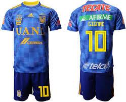 19 2018 Soccer 10 Uanl Tigres Away Jersey Gignac bcadcafeeeafaf|Deuce McCallister-Back With The Saints