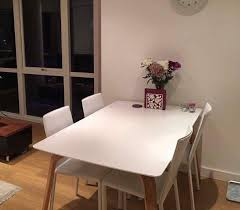 4 seat dining table chair set by john lewis