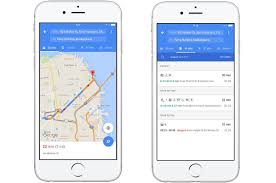 google maps for ios shows you the fastest way to travel in one page Google Maps Travel Time Google Maps Travel Time #24 google maps travel time in seconds