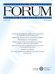 Healthcare Management Forum Journal Sciencedirect Com
