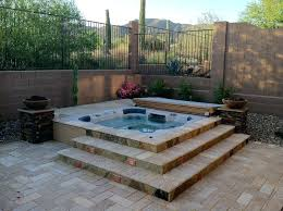 in ground spas in ground spa hot tub designs mirage pools and spas custom in ground