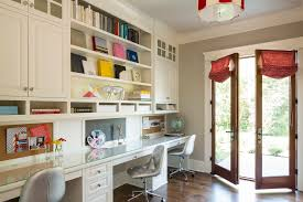 childrens office desk home office traditional with french doors glass doors built in desks built office desk ideas