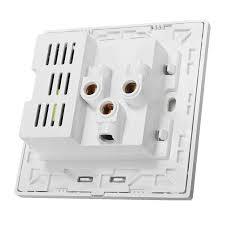 universal dual usb wall socket 5v 2 1ma for all phones tablets