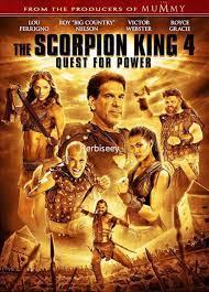 DVD AKREP KRAL 4 - SCORPİON KİNG 4 QUEST FOR POWER - 19.06 TL + KDV