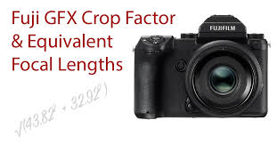 fujifilm gfx crop factor and gf lens