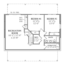 house plans with basement. lakeview 2804 - 3 bedrooms and 2 baths | the house designers. basement planswalkout plans with e
