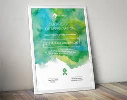 Corporate Certificate Template Watercolor Corporate Certificate Template