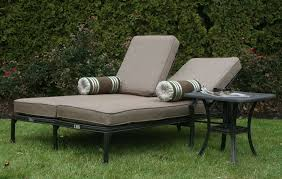 cool patio chairs cast aluminum patio furniture chaise lounges by open air