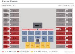 Alerus Center Seating Chart Alerus Center Seating Chart Wallseat Co