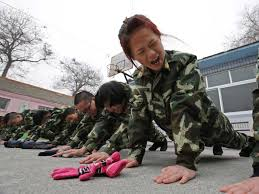 Boot camp for teens