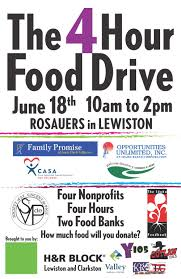 Food Drive Posters 4 Hour Food Drive Poster The Idaho Foodbank
