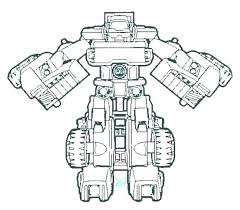 Transformer Coloring Pages Transformers Color Pages Free Transformer