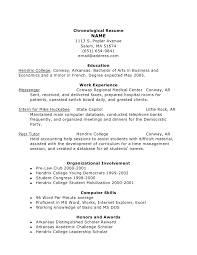 ... Intercultural Committee; 6. Chronological Resume ...