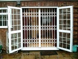 wrought iron storm doors sliding glass door security gate contemporary screen sydney do
