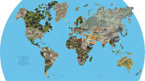 Military Camouflage Patterns Stunning This Map Shows Every Country's Military Camouflage Pattern