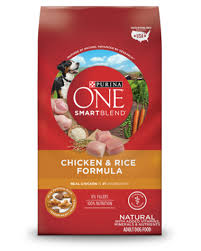 Purina One Smartblend Chicken Rice Formula Natural Adult Dog Food
