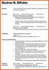 Objective For Teacher Resume teaching resume objective moa format 48