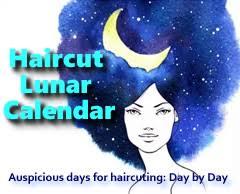 Haircut Lunar Calendar Best Days To Cut Hair Coloring