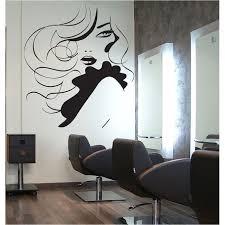 girl hair beauty salon vinyl wall art decal creative ideas
