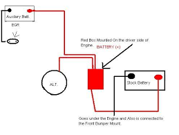 dual battery setup performancetrucks net forums yes i took time to draw a schematic up in paint