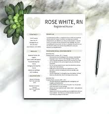 Nursing Resume Templates Free two page resume template free – gocollab