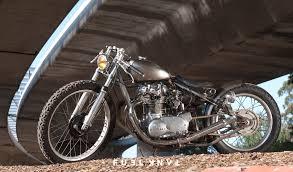 raw steel dallas augustine s yamaha xs650 bobber fuel tank