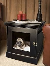 wooden dog crate furniture. Denhaus-dog-crate. The TownHaus Is Constructed From Solid Wood Wooden Dog Crate Furniture