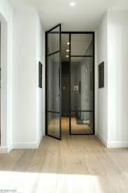 steel interior doors with glass black metal door passage interior steel framed glass interior doors