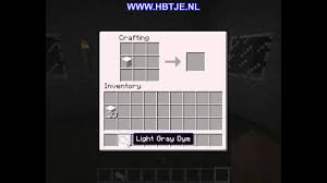 Light Grey Dye How To Create Light Gray Wool In Minecraft