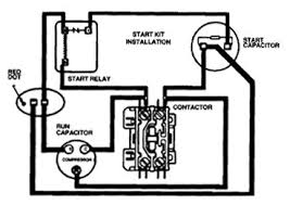 ac unit capacitor wiring diagram wiring diagrams and schematics ac condenser wiring diagram image about