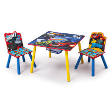 Table Set For Kids Delta Children Nick Jr Kids 3 Piece Blaze And The Monster