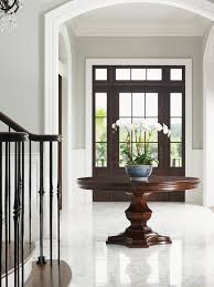 round foyer entry tables for wonderful round hall table