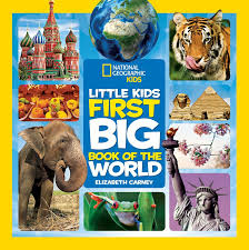 little kids first big book of the world first big book amazon co uk elizabeth carney national geographic kids 9781426320507 books