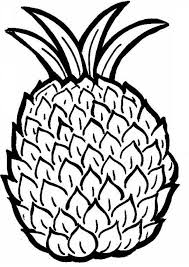Small Picture Pineapple Coloring Pages GetColoringPagescom