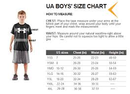 Size Chart For Under Armour Youth Under Armour Locker Tee Ls Athletic Youth Shirt Red