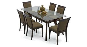 glass dining table sets india. full image for wesley dalla 6 seater dining table set designs in glass sets india b