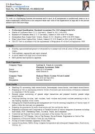 bank resume format