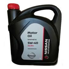 <b>Моторное масло NISSAN</b> VA 5W-40 5 л — купить в интернет ...