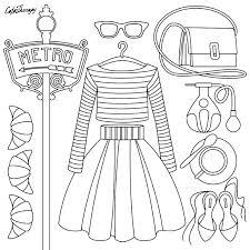 Fashion Design Coloring Pages Fashion Design Coloring Pages Fashion