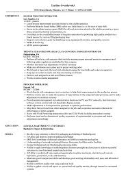 Bunch Ideas Of Resume Chemical Process Operator Process Operator