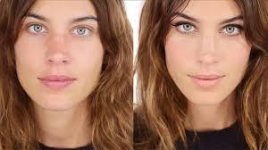 video get alexa chung s signature makeup